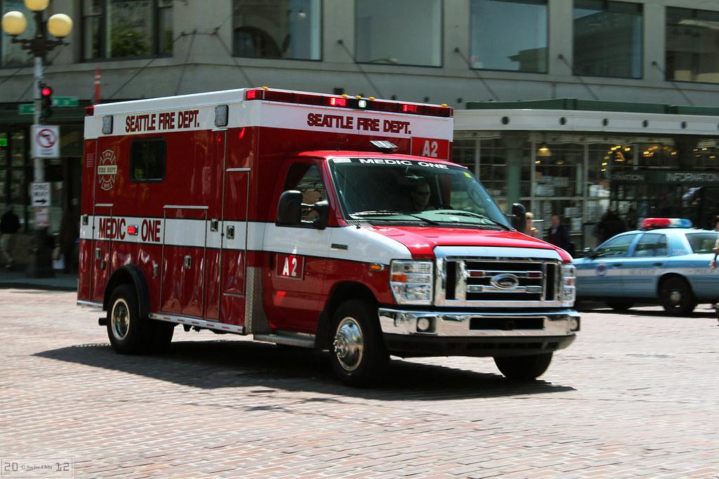 Seattle Fire Department Medic One Ambulance  A2