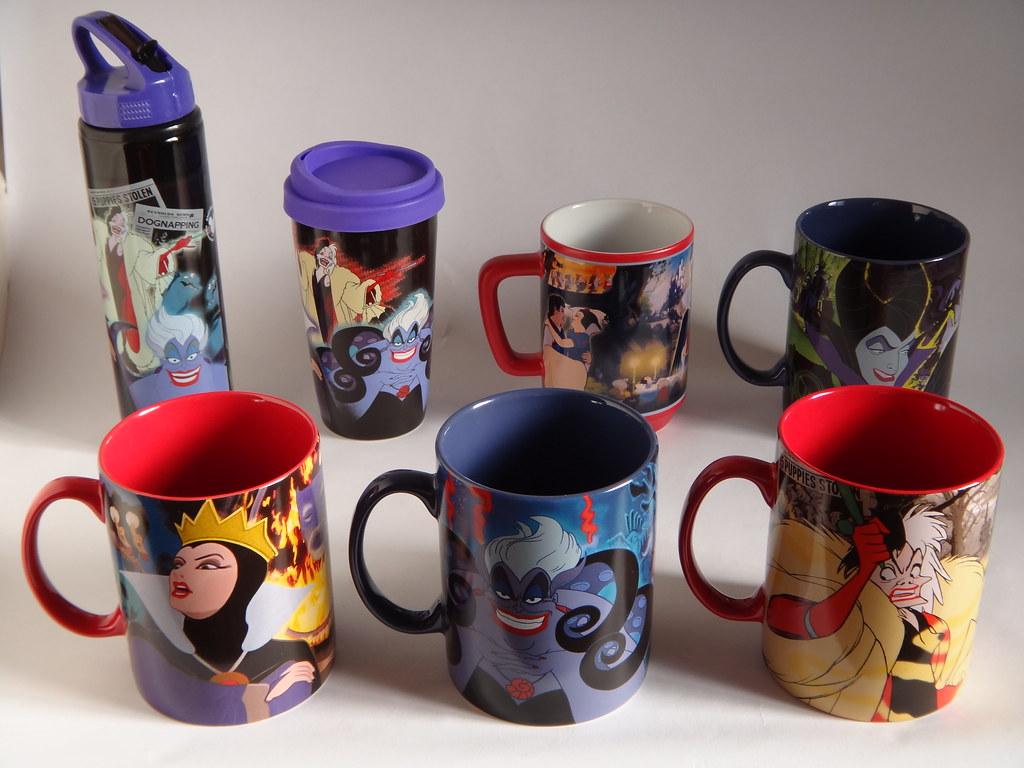 Disney Classic Villains Drinkware And Snow White Mug Dis