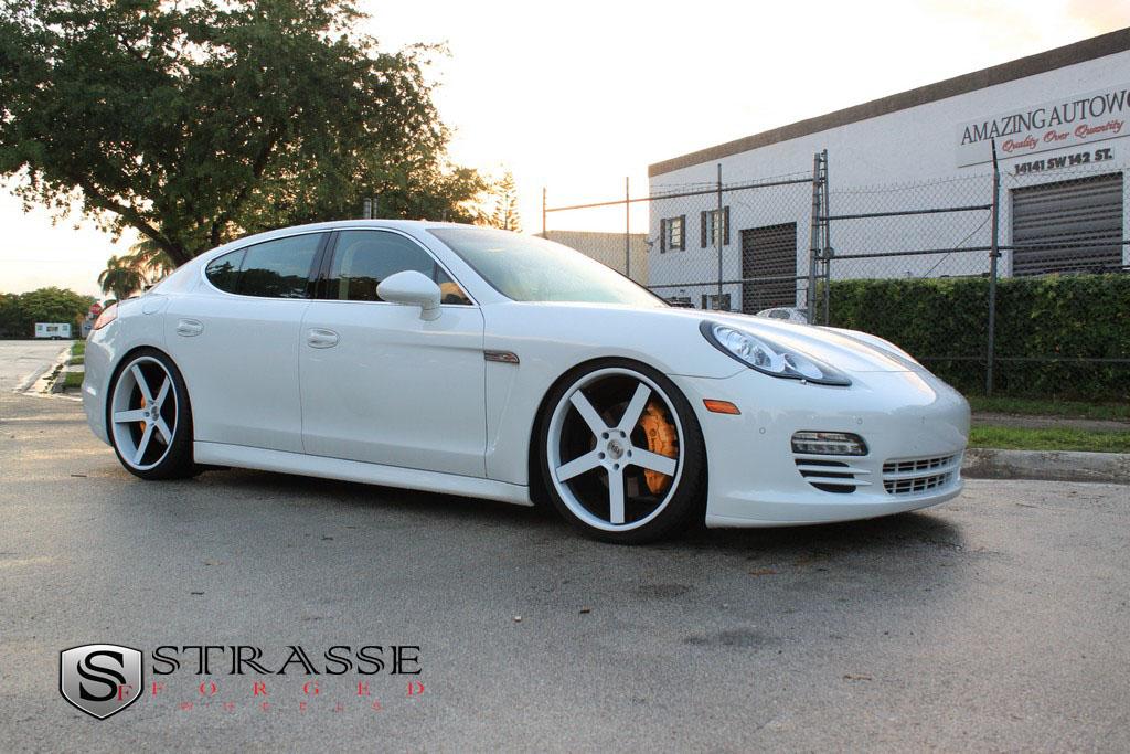 Strasse Forged Wheels Porsche Panamera 22 Inch T5