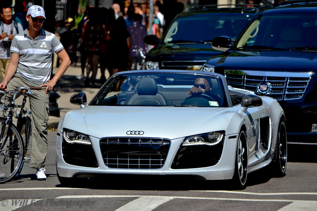 David Ortiz S Audi R8 Gorgeous R8 V10 On Terrible Wheels
