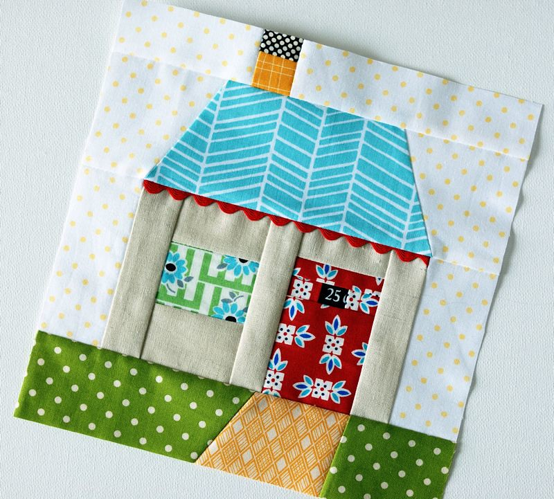 Paper Pieced House Trying Something New Kim Flickr