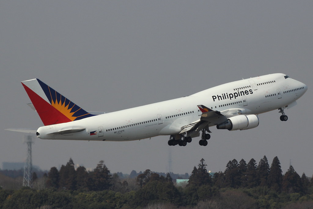 In Philippine Air Grille : Rp c boeing  philippine airlines march