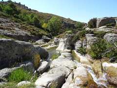 Traversée du ruisseau de Vinaghjolu