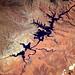 Canyons. Het zuid-westen van de VS heeft adembenemende landschappen. Vanaf de grond en vanuit de ruimte.