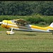 Cessna 195 rolling by