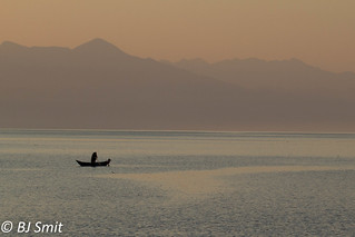 lonely fisherman | by BJSmit