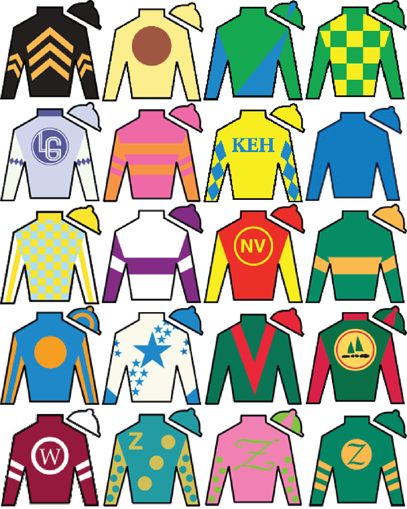 Kentucky Derby Jockey Silks The Obsessive Imagist Flickr