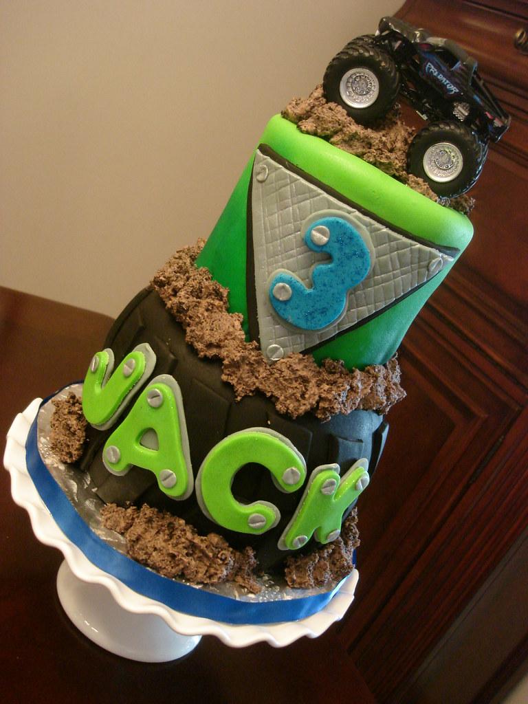 Monster Truck Cake Images