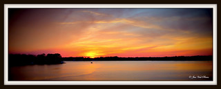 """Sunset on Choctawhatchee Bay"" 