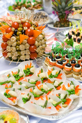 Lovely Catering Buffet Style   Different Light Snack And Sandwichu2026 | Flickr