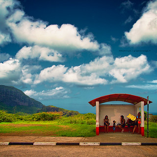 { Mauritius - Abri bus } | by graphistolage
