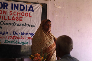 Jotuka Panchayat President explains the need for building the School | by Schoolsforindia