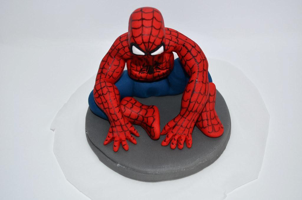 Spiderman D Cake Topper