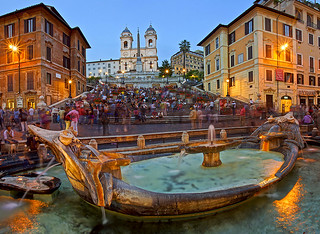Piazza di Spagna and the Spanish Steps, Rome, Italy. | by pedro lastra