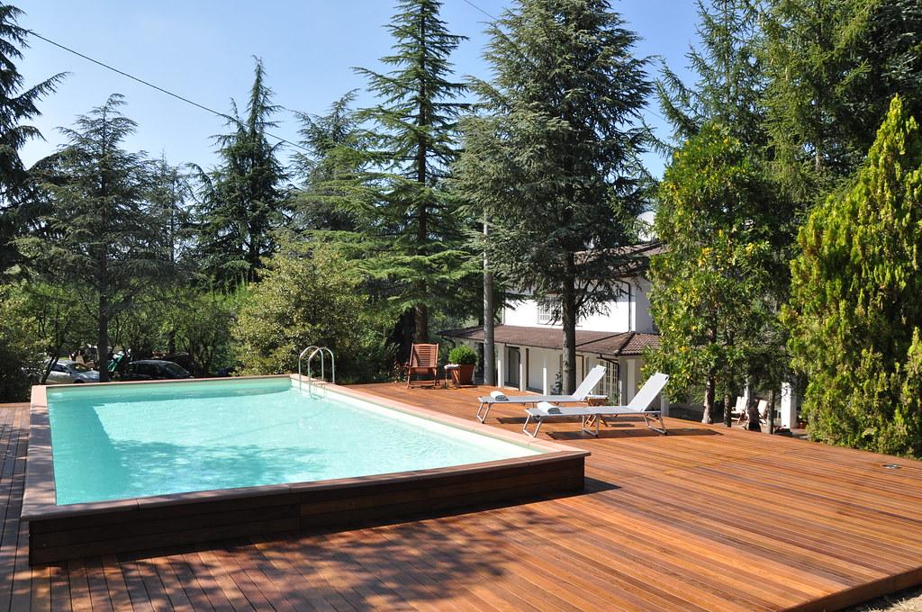 Dv country legno 4x8 3 piscina laghetto dolcevita for Piscina fuori terra 4x8 prezzo