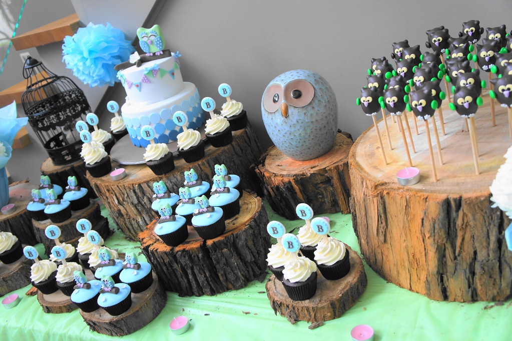 Owl Themed Baby Shower Cake Themed Baby Shower Cakes