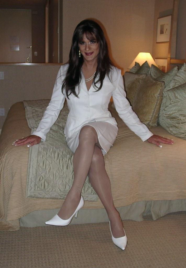 Suit White 2 Michelle Monroe Flickr