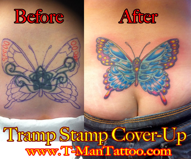 Tramp Stamp Cover Up