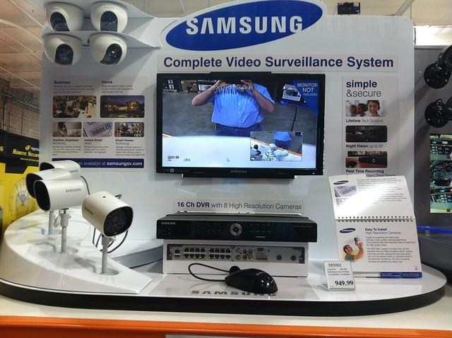 Samsung Surveillance System $950 | 8 cameras, 16 channels ...