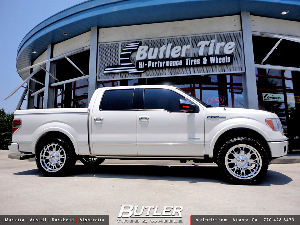 Ford F150 22in Fuel Throttle Wheels and 2in Level Kit | Flickr