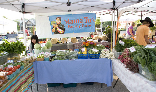 Mama Tu's booth (June 2012) | by Brookside Farmers' Market
