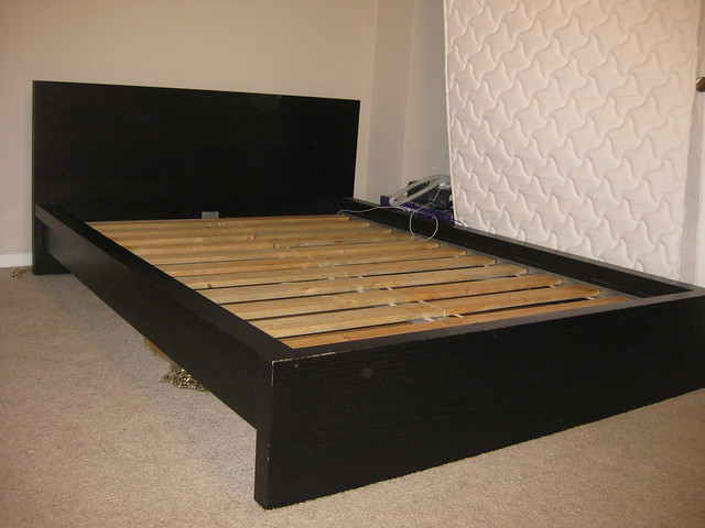 ikea malm full size bed pic 5