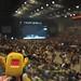 Domo @ Blink-182 concert