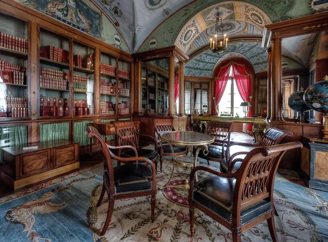 Ch teau de la malmaison 32 biblioth que de l 39 empereur - Bureau d aide juridictionnelle versailles ...