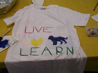 Paint a t-shirt program. | by bernardstownshiplibrary