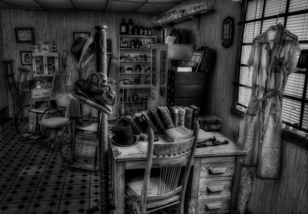 Old Dark Office