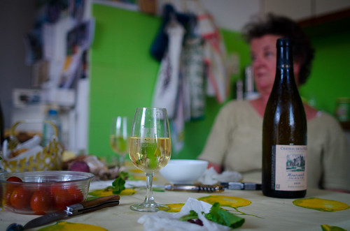 July 27th  - Dinner with Mary Luce - Burgundy | by The Hungry Cyclist