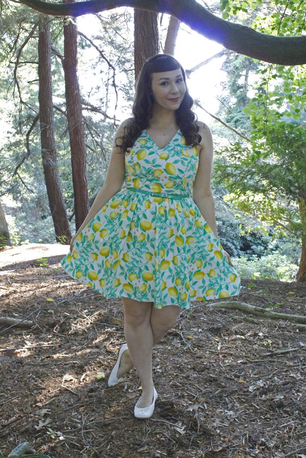 citrus dress