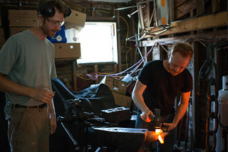 Erik & Tyler Blacksmithing Chainlink for Workshop Chain | by goingslowly