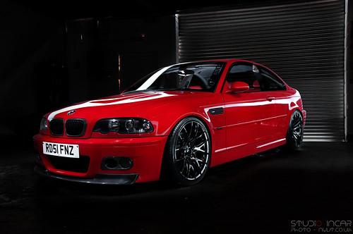 Bmw M3 E46 Imola Red By Studio Incar Bmw M3 E46 Imola Red Flickr