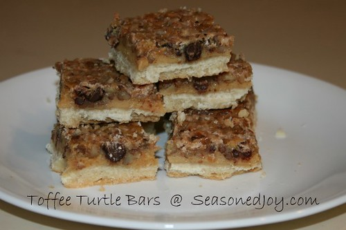 Toffee Turtle Bars | by sheilac31