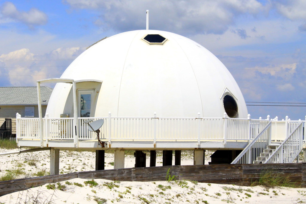 The Igloo House Of Navarre Beach Fl Located Along The