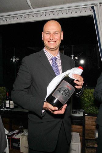 Assistant Winemaker Ronald Du Preez - Jordan Vineyard & Winery Celebrates 40th Anniversary, held on The London Hotel rooftop in West Hollywood, California, USA on Monday, April 23, 2012 | by jordanwinery.com