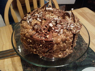 Dad's Chocolate Chocolatey German Chocolate Cake | by Slignot