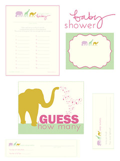 Baby Shower Printables | by Libbie Grove Design
