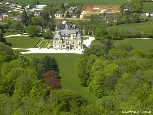 Vue a rienne ch teau de menetou salon best view in light flickr - Chateau de menetou salon visites ...