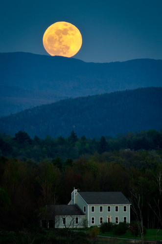 Supermoon over my house | by Jeff Weeks Photography