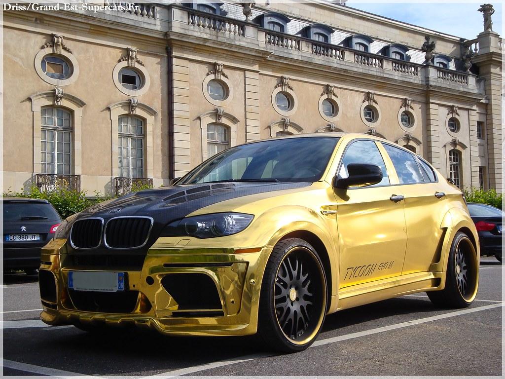 Bmw X6 Hamann Tycoon Evo M Gold in Nancy | G-E Supercars ...