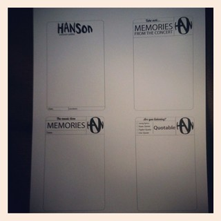 Hanson journalling blocks | by mmmbisto