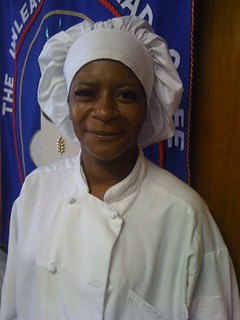 Nicole, the Singing Chef, with us today @UBcafe | by indycoach