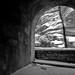 Zion tunnel window