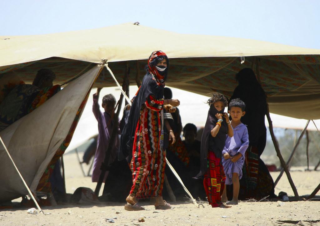 Rashaida Tribe People Near Massawa Eritrea The Rashaida
