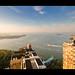 Sunrise in Battery Park