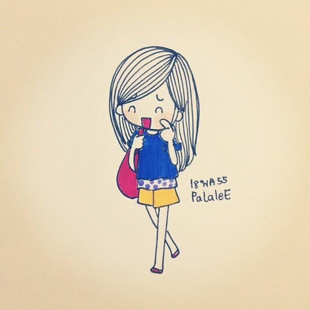 I like that #me #day #girl #mood #emotion #emoji #characte ...  Girl Cartoon Characters To Draw