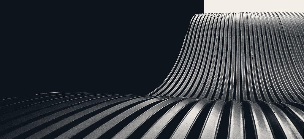 Aluminium wave #1