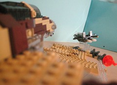 F-16I v.s MIG-29 by Lego.Crazy